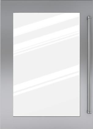 "Sub-Zero® Classic 36"" Stainless Steel Flush Inset Door Panel with Pro Handle-7008905"