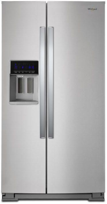 Réfrigérateur côte-à-côte de 36 po Whirlpool® de 28,5 pi³ - Acier inoxydable résistant aux traces de doigts-WRS588FIHZ