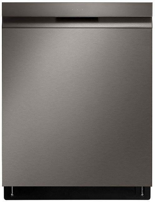 """LG 24"""" PrintProof™ Black Stainless Steel Built In Dishwasher-LDP6810BD"""