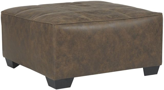 Benchcraft® Abalone Chocolate Oversized Accent Ottoman-9130208