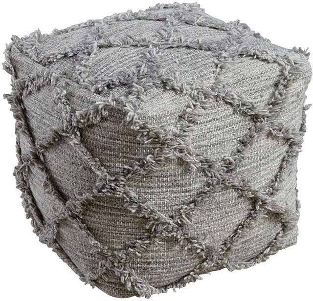 Signature Design by Ashley® Adelphie Natural Gray Pouf-A1000388