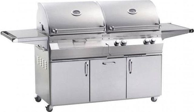 Fire Magic® Aurora Collection A830s Series Portable Combo Grill-Stainless Steel-A830s-5EAN-61-CB