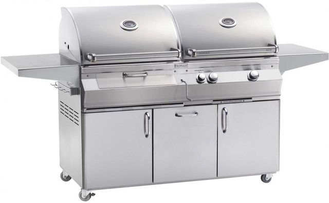 Fire Magic® Aurora Collection A830s Series Portable Combo Grill-Stainless Steel-A830s-5EAP-61-CB