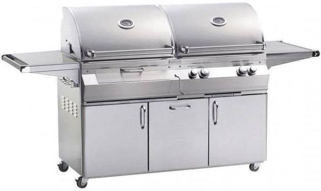 Fire Magic® Aurora Collection A830s Series Portable Combo Grill-Stainless Steel-A830s-6EAP-61-CB