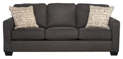 Signature Design by Ashley® Alenya Charcoal Sofa-1660138