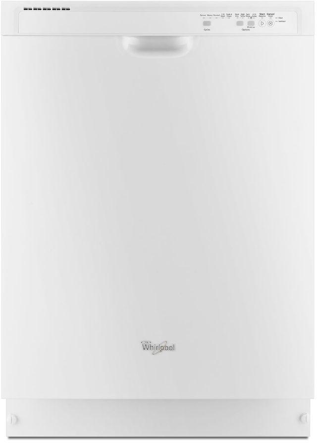 "Whirlpool® 24"" Built In Dishwasher-White-WDF540PADW"