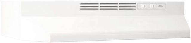 "Broan® 40000 Series 36"" White Under Cabinet Range Hood-403601"