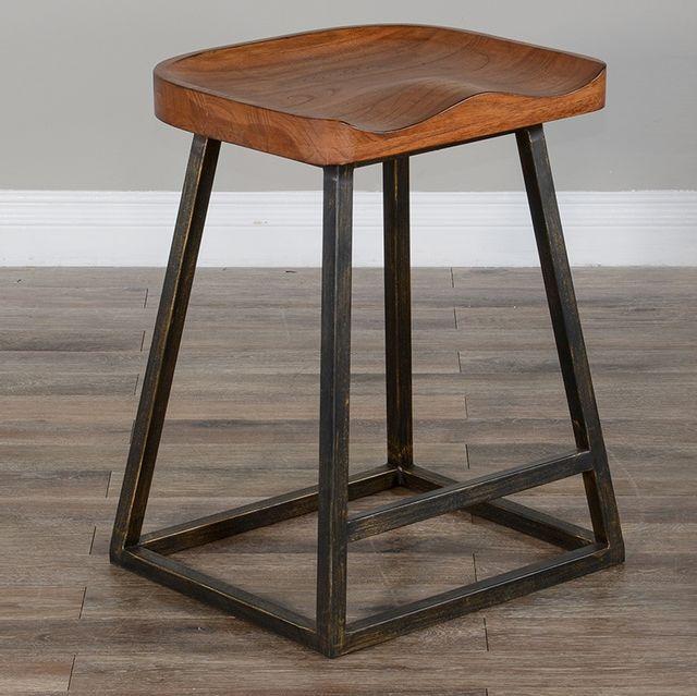 Sunny Designs Rustic Oak Stool-1621RO-24