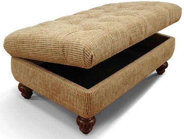 England Furniture® Benwood Storage Ottoman-4350-81