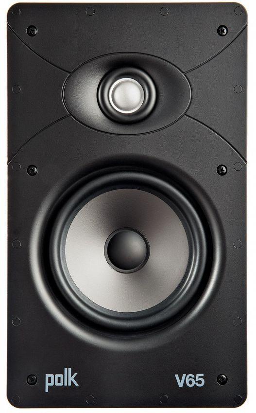 """Polk Audio® Vanishing V Series High Performance 6.5"""" In-Wall Rectangular Speaker-AW4065"""