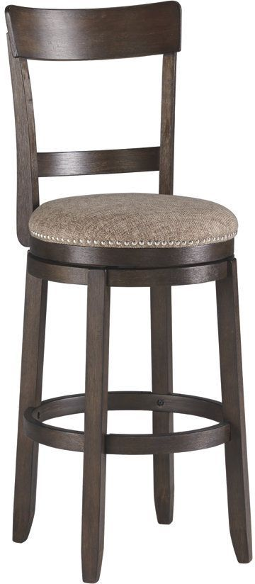 Signature Design by Ashley® Drewing Distressed Wire-Brushed Bar Height Bar Stool-D538-130