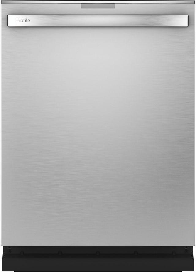 "GE Profile™ 24"" Fingerprint Resistant Stainless Steel Built In Dishwasher-PDT785SYNFS"