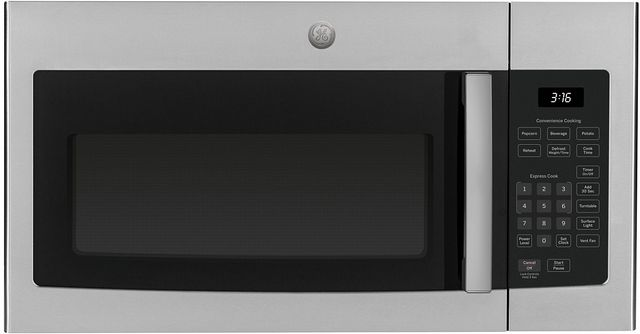 GE® Over The Range Microwave Oven-Stainless Steel-JVM3160RFSS