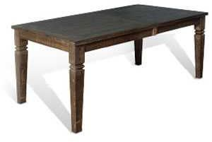 Sunny Designs Homestead Tobacco Leaf Extension Dining Table-1012TL2