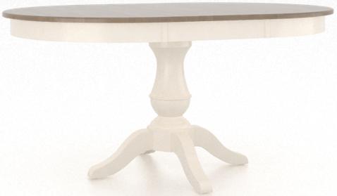 Table à manger ovale, gris, Canadel®-TRN042424980AVSA1