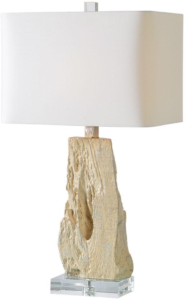 Renwil® Heath Silver Leaf & Cream Table Lamp-LPT696
