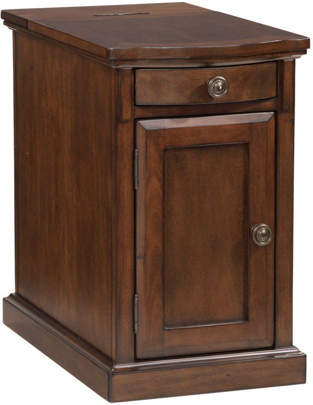 Signature Design by Ashley® Laflorn Medium Brown Chair Side End Table-T127-565