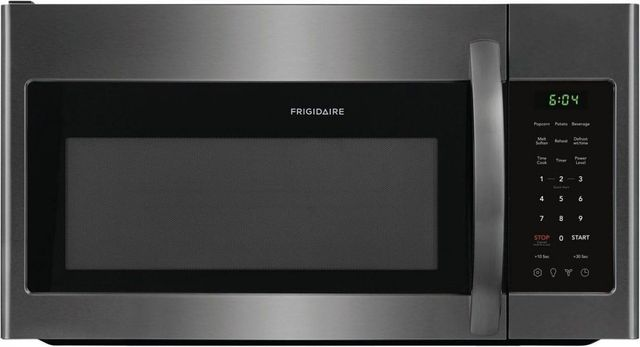 Frigidaire® 1.8 Cu. Ft. Black Stainless Steel Over-The-Range Microwave-FFMV1846VD