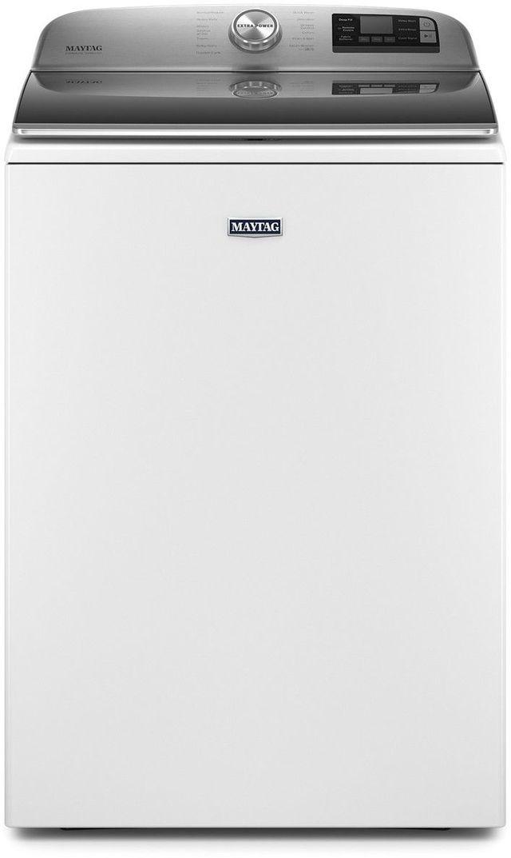 Maytag® 5.3 Cu. Ft. White Top Load Washer-MVW7232HW