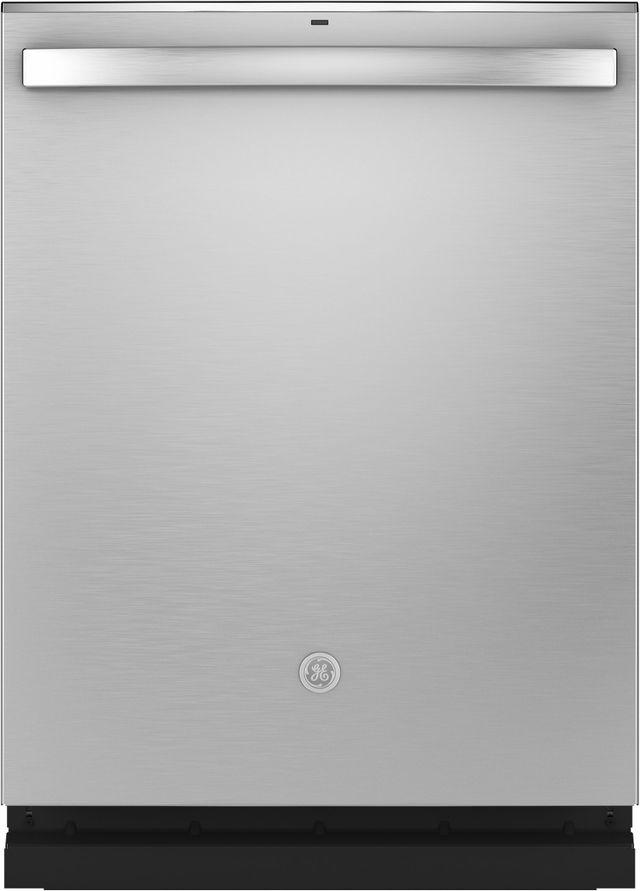 "GE® 24"" Fingerprint Resistant Stainless Steel Built In Dishwasher-GDT645SYNFS"