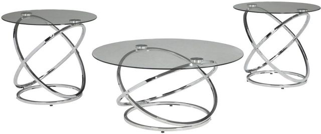Signature Design by Ashley® Hollynyx 3 Piece Occasional Table Set-T270-13