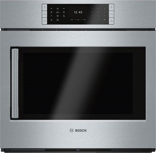 """Bosch Benchmark® Series 30"""" Stainless Steel Electric Single Oven Built In-HBLP451RUC"""