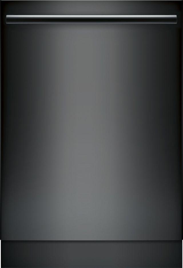 "Bosch 800 Series DLX 24"" Black Built In Dishwasher-SHX878ZD6N"