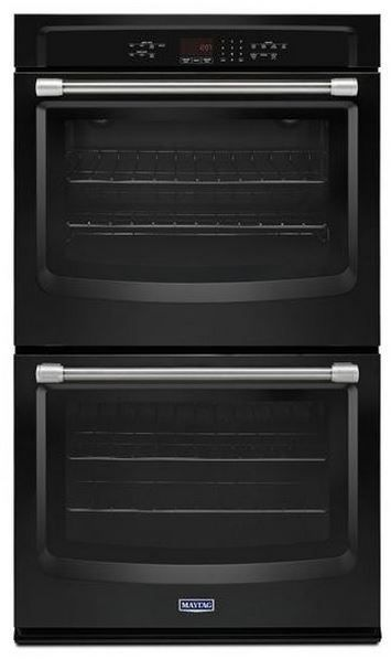 """Maytag 30"""" Electric Double Oven Built In-Black-MEW7630DE"""