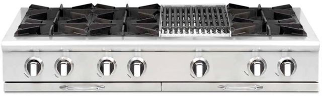 "Capital Culinarian 48"" Stainless Steel Gas Range Top-CGRT484B2"