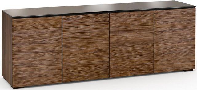 Salamander Designs® Denver 327 AV Cabinet-Textured Medium Walnut-C/DV347/MW