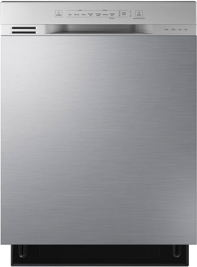"""Samsung 24"""" Built In Dishwasher-Stainless Steel-DW80N3030US"""