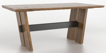 Table à manger rectangulaire East Side Canadel®-TRE04172-ER