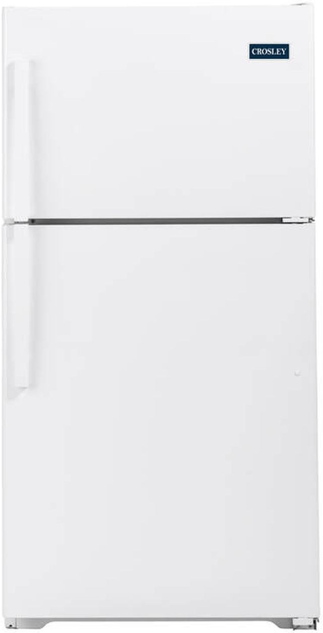 Crosley® 21.9 Cu. Ft. White Top Mount Refrigerator-XRS22KGAWW