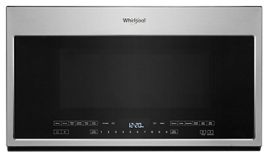 Whirlpool® 2.1 Cu. Ft. Fingerprint Resistant Stainless Steel Over The Range Microwave-YWMH54521JZ