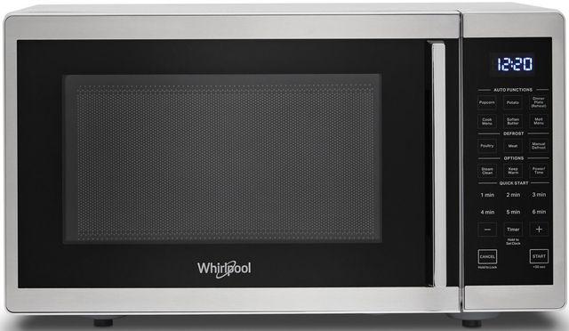 Whirlpool® .9 Cu. Ft. Heritage Stainless Steel Countertop Microwave-WMC30309LS