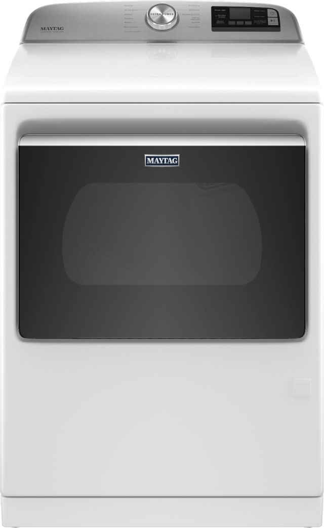 Maytag® 7.4 Cu. Ft. White Front Load Gas Dryer-MGD7230HW