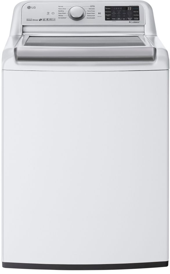 LG 5.5 Cu. Ft. White Top Load Washer-WT7800CW