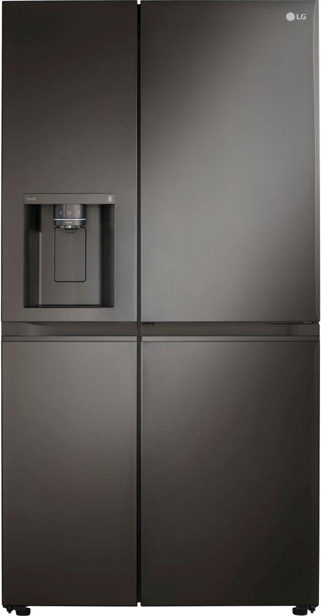LG 27.1 Cu. Ft. PrintProof™ Black Stainless Steel Side-by-Side Refrigerator-LRSDS2706D