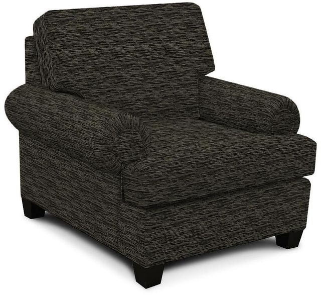 England Furniture Co. Edison Vodka Ebony Chair-8T04-8690