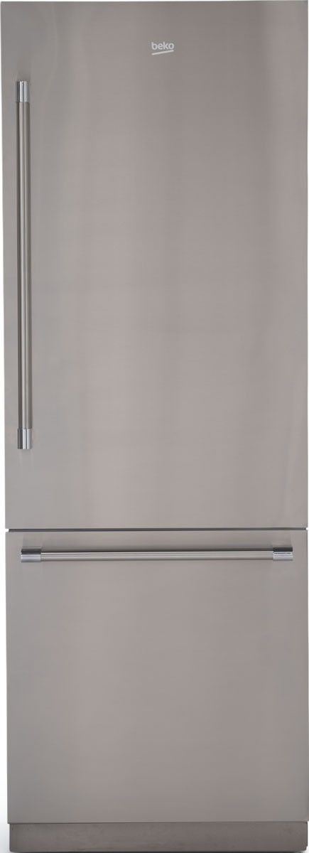 Beko 16.4 Cu. Ft. Stainless Steel Built In Bottom Freezer Refrigerator-BBBF3019IMWESS