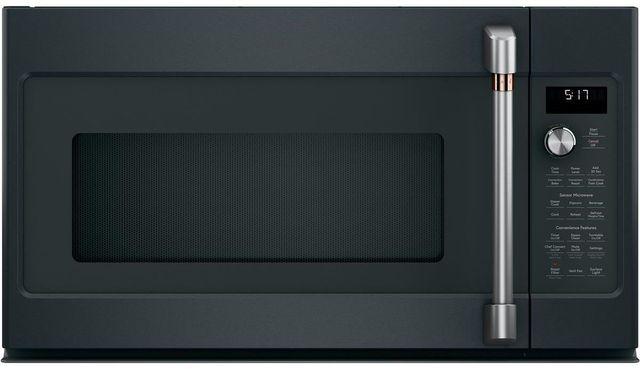 Café™ 1.7 Cu. Ft. Matte Black Over The Range Microwave-CVM517P3MD1