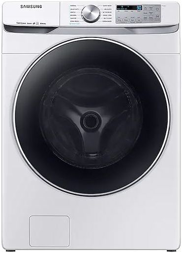 Samsung 4.5 Cu. Ft. White Front Load Washer-WF45R6300AW