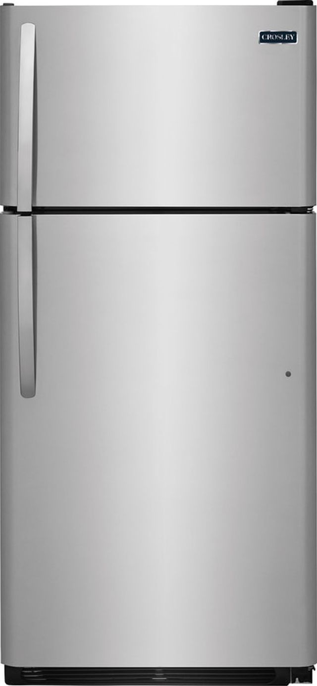 Crosley® 18.18 Cu. Ft. Stainless Look Top Mount Refrigerator-CRD1822ND