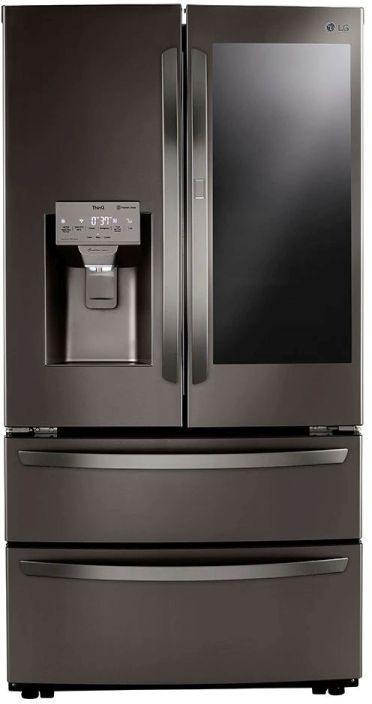 LG 27.8 Cu. Ft. Black Stainless Steel French Door Refrigerator -LRMVS2806D