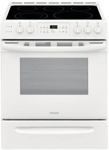 "Frigidaire® 30"" White Freestanding Electric Range-CFEH3054UW"