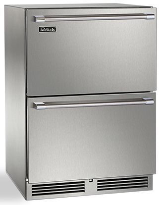 Perlick® Signature Series 5.2 Cu. Ft. Panel Ready Compact Refrigerator-HP24RS-3-6