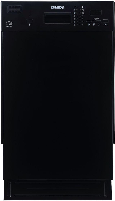 """Danby® 18"""" Black Built In Dishwasher-DDW1804EB"""