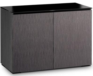 Salamander Designs® Chameleon Seattle 323 Gray Oak AV Cabinet-C/SE323/GO