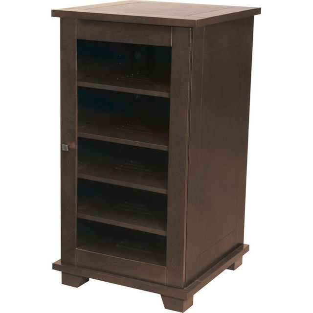Sanus® Alabaster Collection A/V Cabinet-Caramel-ACA42-CA1