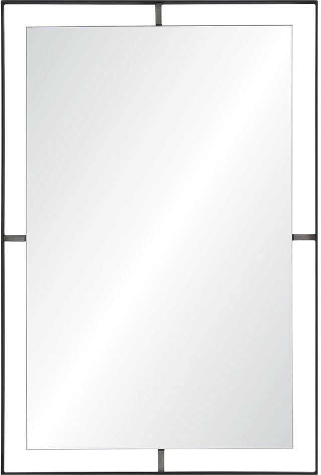 Miroir mural Heston, noir, Renwil®-MT1857